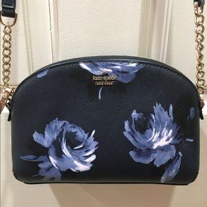 Kate Spade Night Rose Crossbody Purse Bag